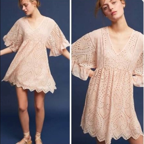 efb188e1404e FINAL SALE Akemi + Kin Brooke Eyelet Swing Dress. NWT. Anthropologie